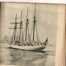 Coleccionismo Periódico La Vanguardia: LA VANGUARDIA MAYO 1955 BUQUE JUAN SEBASTIAN EL CANO CONCHA ESPINA MENORCA RIUS Y TAULET. Lote 9370408