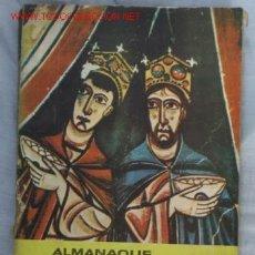 Coleccionismo Periódico La Vanguardia: ALMANAQUE LA VANGUARDIA. 1961. Lote 1501438