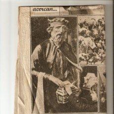 Coleccionismo Periódico La Vanguardia: LA VANGUARDIA 1951.ENERO.REYES MAGOS.BARCELONA.COÑAC DECANO.CASTELLBLANCH.. Lote 10480074