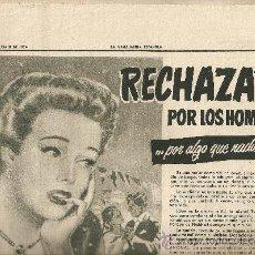 Coleccionismo Periódico La Vanguardia: LA VANGUARDIA 1954.JUNIO.DESODORANTE.DERMILUZ.LAVANDA MURURGIA. GAFAS.AMOR.HOTEL MONTERREY.. Lote 10576471