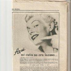 Coleccionismo Periódico La Vanguardia: LA VANGUARDIA 1954.JUNIO.EL GENERALISIMO TRUJILLO.ALMACENES CAPITOLIO.MUEBLES NOVOPAN.. Lote 10576663
