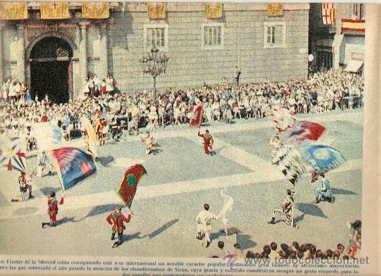 LA VANGUARDIA SEPTIEMBRE.AÑO 1965.FIESTAS DE LA MERCED.MUSICA.CENTENARIOS.FERIAS.TEMPLO.PINTORES. (Coleccionismo - Revistas y Periódicos Modernos (a partir de 1.940) - Periódico La Vanguardia)