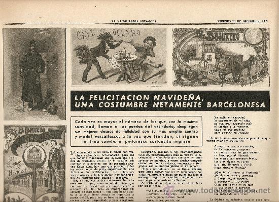 Coleccionismo Periódico La Vanguardia: AÑO 1967 ESPECIAL NAVIDAD HISTORIA FELICITACION CHRISTMAS CODORNIU FREIXENET CARLOS III NESTLE PUBLI - Foto 2 - 10713575