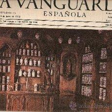 Coleccionismo Periódico La Vanguardia: AÑO 1968 EXPOQUIMIA BOTICARIO A FARMACEUTICO ALQUIMISTA FARMACIAS ANTIGUAS INDUSTRIA UTILLAJE. Lote 10714920