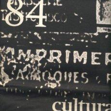 Coleccionismo Periódico La Vanguardia: CULTURAS Nº 84. LA VANGUARDIA. CÓDIGO DA VINCI, VÁZQUEZ MONTALBAN, BALTHUS, ARQUITECTURA ZOOMÓRFICA. Lote 21851078