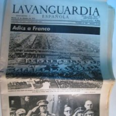 Collectionnisme Journal La Vanguardia: DIARIO LA VANGUARDIA 25-NOV-1975: MUERTE DE FRANCO. Lote 11342304
