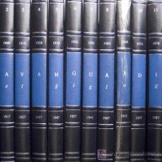 Coleccionismo Periódico La Vanguardia: LA VANGUARDIA DEL SIGLO XX 1898 – 1997 12 CARPETAS EN GUAFLEX CON DOS PERIÓDICOS FACSÍMILES POR AÑO. Lote 22253451