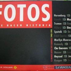Coleccionismo Periódico La Vanguardia: FOTOS QUE HACEN HISTORIA. EL MUNDO ENTRE DOS GUERRAS (1945-1991) LA VANGUARDIA, . Lote 18222113