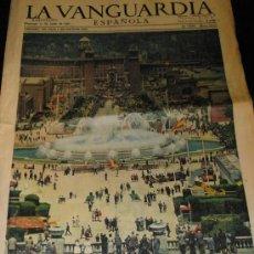 Colecionismo Jornal La Vanguardia: LA VANGUARDIA ESPAÑOLA 1961.MANOLO SANTANA..RAMON PEREZ DE AYALA...VELAZQUEZ.ETC. Lote 18956257