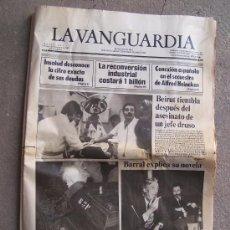 Coleccionismo Periódico La Vanguardia: LA VANGUARDIA, VIERNES 2 DICIEMBRE DE 1983. Lote 27276434