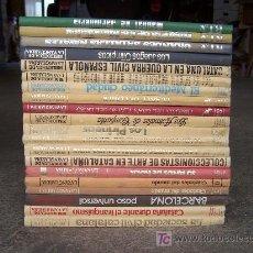 Coleccionismo Periódico La Vanguardia: BIBLIOTECA DE LA VANGUARDIA. 20 TOMOS DE FASCICULOS COMPLETOS Y ENCUADERNADOS. Lote 26784555