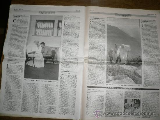 Coleccionismo Periódico La Vanguardia: SUPLEMENTO LA VANGUARDIA EL PAPA DEL SIGLO XX - Foto 3 - 27462453