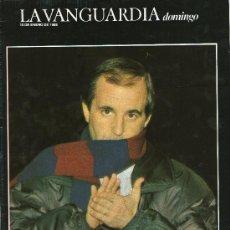 Coleccionismo Periódico La Vanguardia: REVISTA LA VANGUARDIA, DOMINGO- SIMPLEMENTE GARCÍA- 10 ENERO DE 1988. Lote 24274938