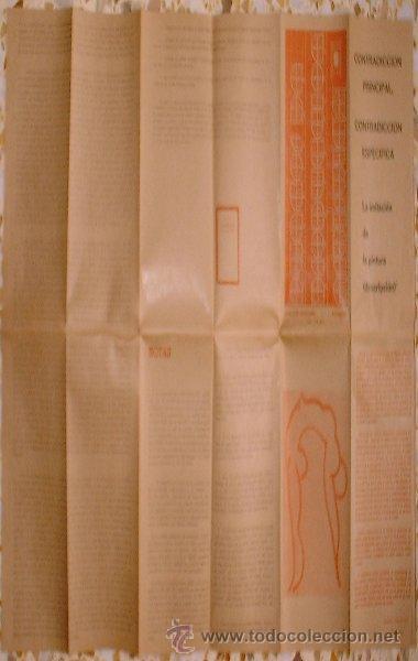 Coleccionismo Periódico La Vanguardia: Revista Pliegos de Producción Artística. cine club saracosta - Zaragoza Enero-Febrero 1975 - Foto 3 - 25127051