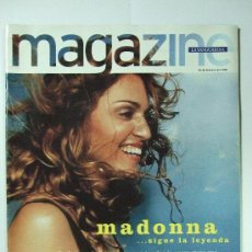 Colecionismo Jornal La Vanguardia: MAGAZINE LA VANGUARDIA - PORTADA MADONNA - 22 DE FEBRERO DE 1998. Lote 27000043