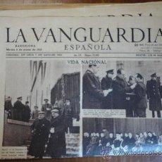 Coleccionismo Periódico La Vanguardia: LOTE DE 21 PORTADAS DE LA VANGUARDIA, DE MARZODE 1943.. Lote 27494507
