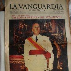 Coleccionismo Periódico La Vanguardia: LA VANGUARDIA - 18 - 7 - 1961 .. Lote 28409328
