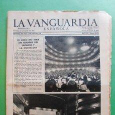 Coleccionismo Periódico La Vanguardia: LA VANGUARDIA ESPAÑOLA 25 AGOSTO 1963 Nº 30.239 - EL LICEO - SECUESTRO DE ALFREDO DIESTEFANO. Lote 30564874