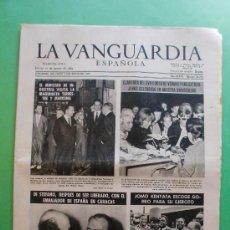 Coleccionismo Periódico La Vanguardia: LA VANGUARDIA ESPAÑOLA 29 AGOSTO 1963 Nº 30.242-DI STEFANO-MANIFESTACION ANTIRACIAL WASHINGTON. Lote 30565885