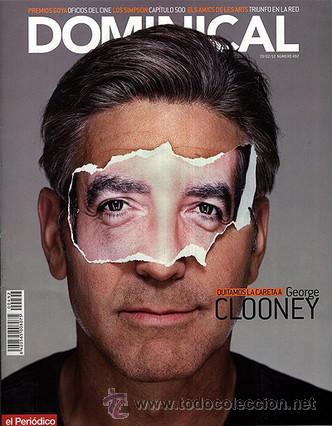 Coleccionismo Periódico La Vanguardia: lote 3 GEORGE CLOONEY ENTREVISTAS - simpson - artur mas - egipto - bimba bose - nuevas de kiosko - Foto 2 - 30378064