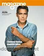 Coleccionismo Periódico La Vanguardia: lote 3 GEORGE CLOONEY ENTREVISTAS - simpson - artur mas - egipto - bimba bose - nuevas de kiosko - Foto 3 - 30378064