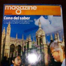 Coleccionismo Periódico La Vanguardia: MAGAZINE LA VANGUARDIA - 20 DE SEPTIEMBRE DEL 2009. Lote 31239829