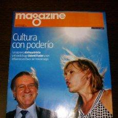 Coleccionismo Periódico La Vanguardia: MAGAZINE LA VANGUARDIA - 11 DE OCTUBRE DEL 2009. Lote 31239850