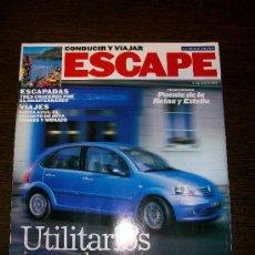 Coleccionismo Periódico La Vanguardia: ESCAPE - CONDUCIR Y VIAJAR 21 DE JULIO 2002 - SUPLEMENTO LA VANGUARDIA. Lote 31361297