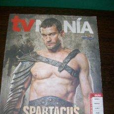Coleccionismo Periódico La Vanguardia: TV MANÍA 29 DE MAYO AL 4 DE JUNIO DE 2010 - SUPLEMENTO LA VANGUARDIA - ARTICULO SPARTACUS. Lote 31557704