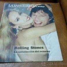 Coleccionismo Periódico La Vanguardia: REV: VANGUARDIA 9/1989.-ROLLING STONES AMPL. RPTJE.EDIFICIO COLON,VISCONTI Y EL LIDO,LA FLOR HOLAND. Lote 32220792
