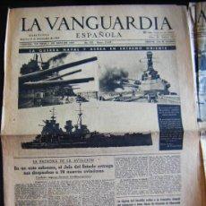 Coleccionismo Periódico La Vanguardia: LA VANGUARDIA. GUERRA NAVAL Y AEREA EN ORIENTE. PATRONA DE LA AVIACIÓN. II GUERRA MUNDIAL. 1941. Lote 32296480
