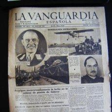 Coleccionismo Periódico La Vanguardia: LA VANGUARDIA. V17 SEPT. 1943 LVX, Nº 24038. MISCELANEA EXTRANJERA II GUERRA MUNDIAL. . Lote 32296975