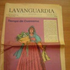 Coleccionismo Periódico La Vanguardia: REVISTA LA VANGUARDIA - DOMINGO 7 MARZO DE 1982- - Nº 35.991- . Lote 35002890