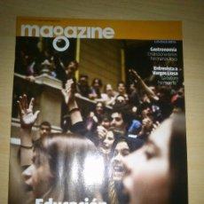 Coleccionismo Periódico La Vanguardia: MAGAZINE LA VANGUARDIA - 15 DE ABRIL DEL 2012 - ENTREVISTA A VARGAS LLOSA. Lote 35618426
