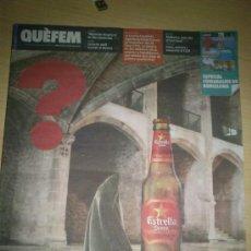 Coleccionismo Periódico La Vanguardia: QUÈ FEM LA VANGUARDIA 15-06-2012 SÓNAR 2012. Lote 35618467
