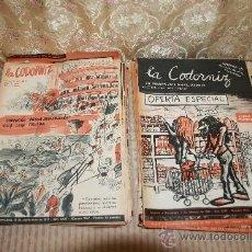 Coleccionismo Periódico La Vanguardia: 2707- LA CODORNIZ. NUMEROS SUELTOS. 246 EJEMPLARES. IMP. DE LA VANGUARDIA. VER DESCRIPCION.. Lote 36160939