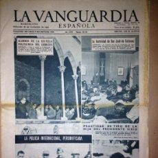 Coleccionismo Periódico La Vanguardia: LA VANGUARDIA DEL 28 DE NOVIEMBRE DE 1956- SAN JOSE DE CALASANZ-. Lote 36957049