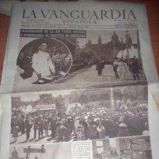 Coleccionismo Periódico La Vanguardia: DIARIO LA VANGUARDIA DOMINGO 9 JUNIO 1946 . Lote 37041017