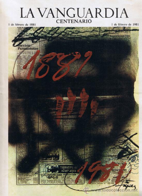SUPLEMENTO LA VANGUARDIA - FEBRERO 1981 - CENTENARIO (Coleccionismo - Revistas y Periódicos Modernos (a partir de 1.940) - Periódico La Vanguardia)