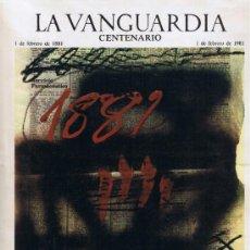 Collection Newspaper La Vanguardia - SUPLEMENTO LA VANGUARDIA - FEBRERO 1981 - CENTENARIO - 37293550