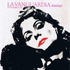 Colecionismo Jornal La Vanguardia: SUPLEMENTO LA VANGUARDIA - SEPTIEMBRE 1985 - OCHENTA AÑOS CON GRETA. Lote 37298597