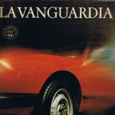 Colecionismo Jornal La Vanguardia: LA VANGUARDIA - CIEN AÑOS DE LA VIDA DEL MUNDO - EL AUTOMÒVIL - FASCÍCULO 41. Lote 37315945