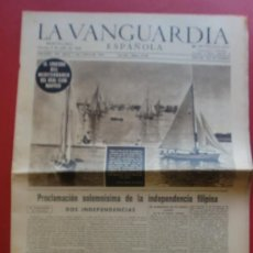Coleccionismo Periódico La Vanguardia: LA VANGUARDIA 05/07/1946 EL CRUCERO DEL MEDITERRANEO DEL REAL CLUB NAUTICO - D.D.T. ZZ . Lote 37351865