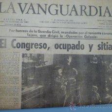 Coleccionismo Periódico La Vanguardia: LA VANGUARDIA 24 DE FEBRERO 1981. Lote 37619110