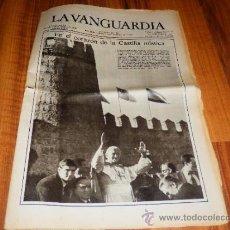 Coleccionismo Periódico La Vanguardia: LA VANGUARDIA BARCELONA 2 DE NOVIEMBRE 1982 NUM 36224 PAPA JUAN PABLO II EN EL CORAZON DE CASTILLA . Lote 37837101