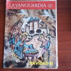 Coleccionismo Periódico La Vanguardia: REV. - LA VANGUARDIA - 16 DE DICIEMBRE DE 1981 / NAVIDAD /. Lote 38472865