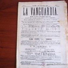 Coleccionismo Periódico La Vanguardia: LA VANGUARDIA - AÑO 1981 - REPRODUCCION DE LA VANGUARDIA NUM 1 DEL AÑO 1881. Lote 38473001