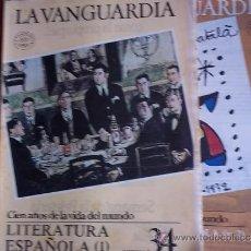 Coleccionismo Periódico La Vanguardia: LA VANGUARDIA - REV.- 1981 - CIEN AÑOS DE VIDA EN EL MUNDO - 2 FASC. Nº 34 Y 35 - LITERATURA ESPAÑA. Lote 38478335
