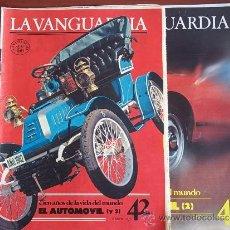 Coleccionismo Periódico La Vanguardia: LA VANGUARDIA - REV.- 1981 - CIEN AÑOS DE VIDA EN EL MUNDO -( 2 ) FASC. - Nº 41 Y 42 - EL AUTOMOBIL. Lote 38481219