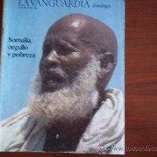 Coleccionismo Periódico La Vanguardia: LA VANGUARDIA - 13 DE MAYO DE 1984 / REV DOMINGO - SOMALIA ORGULLO Y POBREZA. Lote 38530646
